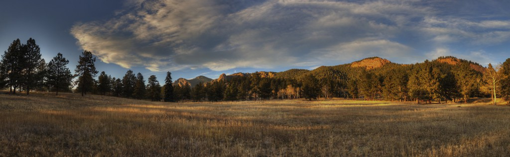 HDR Panorama from near the Mason Creek Trail in Stuanton State Park.